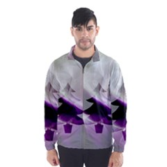 Purple Christmas Tree Wind Breaker (men) by yoursparklingshop