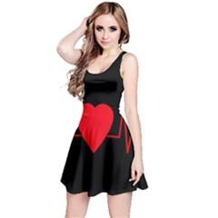 Hart bit Reversible Sleeveless Dress