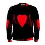 Hart bit Men s Sweatshirt