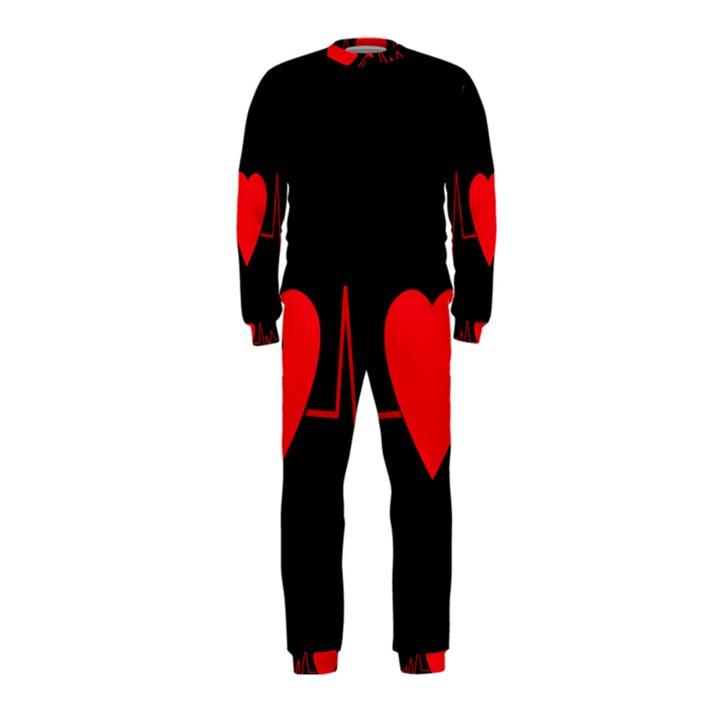 Hart bit OnePiece Jumpsuit (Kids)