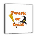Twerk or treat - Funny Halloween design Mini Canvas 8  x 8