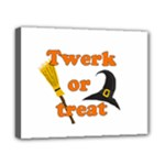 Twerk or treat - Funny Halloween design Canvas 10  x 8