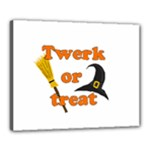 Twerk or treat - Funny Halloween design Canvas 20  x 16