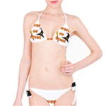 Twerk or treat - Funny Halloween design Bikini Set