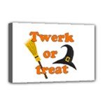 Twerk or treat - Funny Halloween design Deluxe Canvas 18  x 12