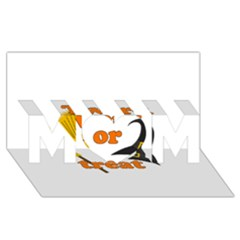Twerk Or Treat   Funny Halloween Design Mom 3d Greeting Card (8x4)