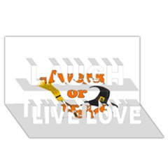 Twerk Or Treat   Funny Halloween Design Laugh Live Love 3d Greeting Card (8x4) by Valentinaart