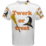 Twerk or treat - Funny Halloween design Men s Cotton Tee