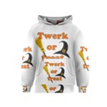 Twerk or treat - Funny Halloween design Kids  Pullover Hoodie