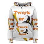 Twerk or treat - Funny Halloween design Women s Pullover Hoodie