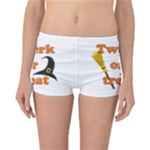 Twerk or treat - Funny Halloween design Reversible Boyleg Bikini Bottoms