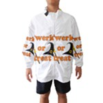 Twerk or treat - Funny Halloween design Wind Breaker (Kids)