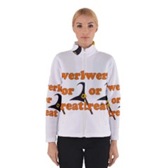 Twerk Or Treat   Funny Halloween Design Winterwear