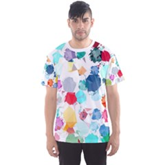 Colorful Diamonds Dream Men s Sport Mesh Tee by DanaeStudio