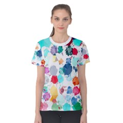 Colorful Diamonds Dream Women s Cotton Tee by DanaeStudio