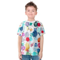 Colorful Diamonds Dream Kids  Cotton Tee by DanaeStudio