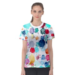 Colorful Diamonds Dream Women s Sport Mesh Tee by DanaeStudio
