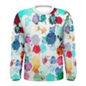 Colorful Diamonds Dream Men s Long Sleeve Tee View1
