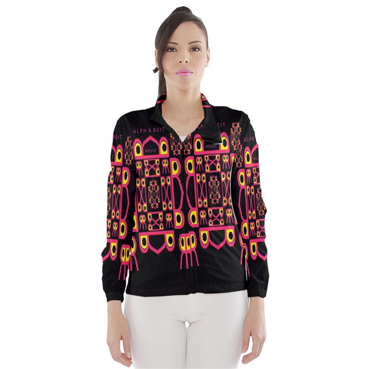 Alphabet Shirt Wind Breaker (Women)