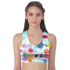 Colorful Diamonds Dream Sports Bra