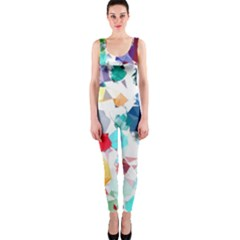 Colorful Diamonds Dream Onepiece Catsuit by DanaeStudio