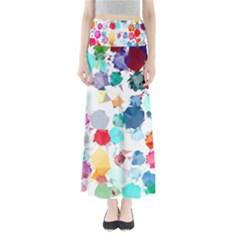 Colorful Diamonds Dream Women s Maxi Skirt by DanaeStudio