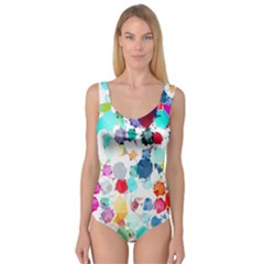 Colorful Diamonds Dream Princess Tank Leotard