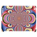 Pastel Shades Ornamental Flower Apple iPad 3/4 Hardshell Case (Compatible with Smart Cover) View1