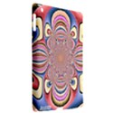 Pastel Shades Ornamental Flower Apple iPad 3/4 Hardshell Case (Compatible with Smart Cover) View2