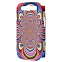 Pastel Shades Ornamental Flower Samsung Galaxy S III Hardshell Case (PC+Silicone) View3