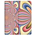Pastel Shades Ornamental Flower Apple iPad Mini Flip Case View1