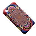 Pastel Shades Ornamental Flower Apple iPhone 3G/3GS Hardshell Case (PC+Silicone) View5