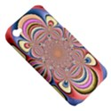Pastel Shades Ornamental Flower Apple iPhone 4/4S Hardshell Case (PC+Silicone) View5
