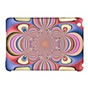 Pastel Shades Ornamental Flower Apple iPad Mini Hardshell Case (Compatible with Smart Cover) View1