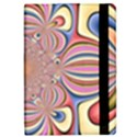 Pastel Shades Ornamental Flower iPad Mini 2 Flip Cases View2