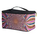 Pastel Shades Ornamental Flower Cosmetic Storage Case View3