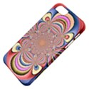 Pastel Shades Ornamental Flower Apple iPhone 5 Classic Hardshell Case View4