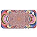 Pastel Shades Ornamental Flower Apple iPhone 4/4S Hardshell Case (PC+Silicone) View1