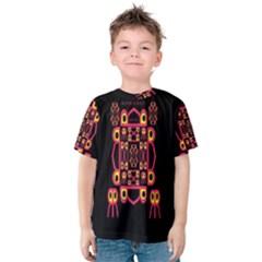 Alphabet Shirt Kids  Cotton Tee