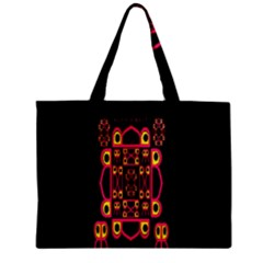 Alphabet Shirt Zipper Mini Tote Bag by MRTACPANS