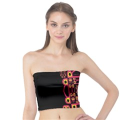 Alphabet Shirt Tube Top