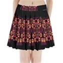 Alphabet Shirt Pleated Mini Skirt View1