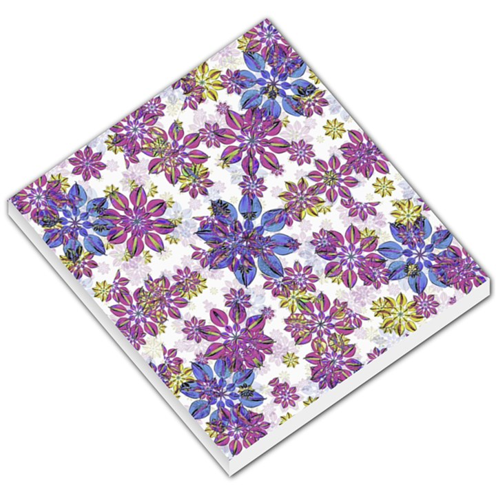 Stylized Floral Ornate Pattern Small Memo Pads