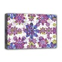 Stylized Floral Ornate Pattern Deluxe Canvas 18  x 12   View1