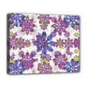 Stylized Floral Ornate Pattern Deluxe Canvas 20  x 16   View1