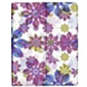 Stylized Floral Ornate Pattern Apple iPad 3/4 Flip Case View1