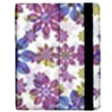 Stylized Floral Ornate Pattern Apple iPad 3/4 Flip Case View2