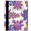 Stylized Floral Ornate Pattern Apple iPad 3/4 Flip Case View3