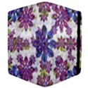 Stylized Floral Ornate Pattern Apple iPad 3/4 Flip Case View4