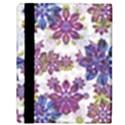 Stylized Floral Ornate Pattern Apple iPad Mini Flip Case View3
